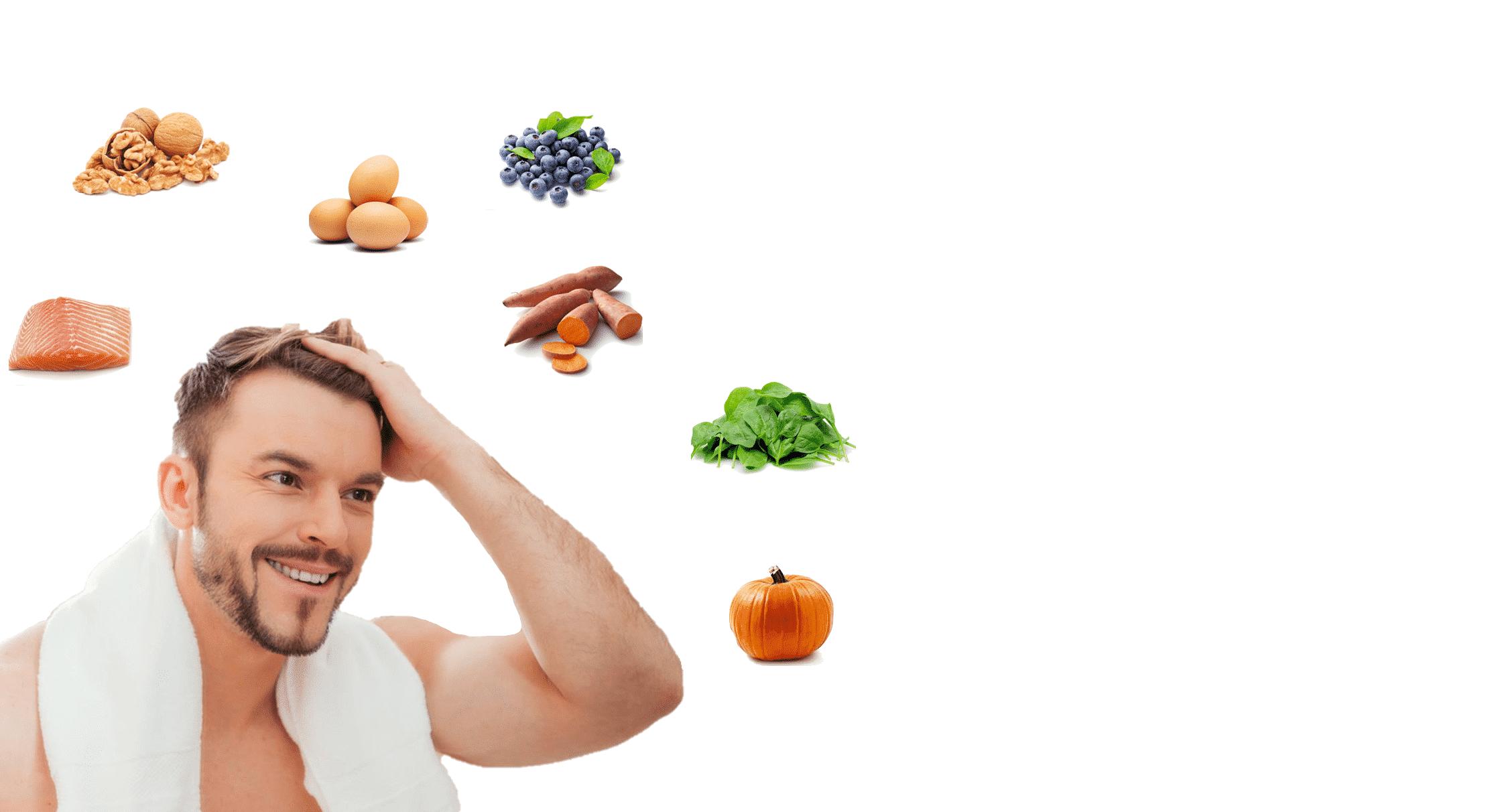 Die 7 besten Nahrungsmittel zum Schutz Ihres Haares