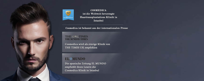 Cosmedica Clinic in Istanbul Internationale Presse