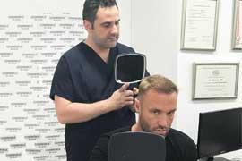 Der britische TV-Star Calum Best bei Cosmedica in Istanbul