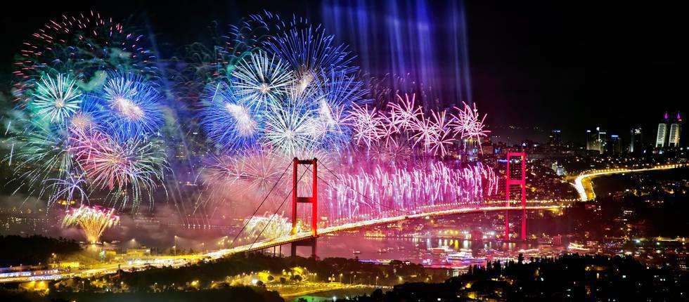Warum besuchen viele Europäer die Türkei, um das neue Jahr zu verbringen ?