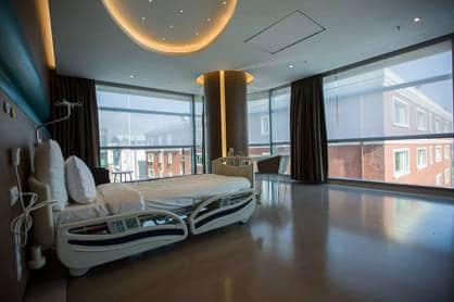 Cosmedica Clinc Patienten Zimmer