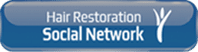 Logo von hair restoration social network