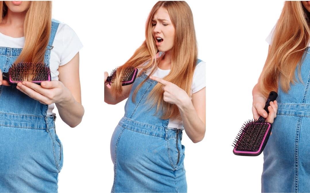 Haarausfall in der Schwangerschaft – ist das normal?