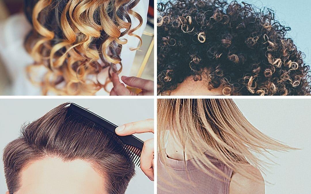 Ist die Haarstruktur wichtig für eine Haartransplantation?