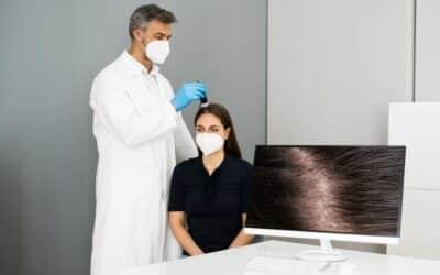 Welcher Arzt hilft bei Haarausfall